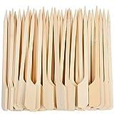 YICOTA Pinchos de Paleta de bambú, 100 Piezas de Palitos de cóctel,...