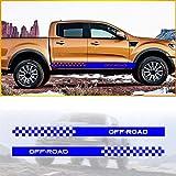 Ford Ranger Wildtrack 2016 a Medida /& Impermeable Gris Fundas De Asiento Delantero Par