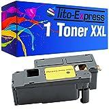 Tito-Express Tóner XXL PlatinumSerie, color negro, compatible con Epson Aculaser C1700 CX17 CX17NF CX17W, 2000 páginas