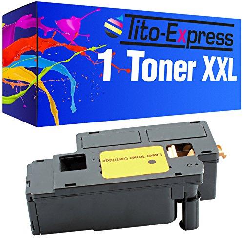 Tito-Express PlatinumSerie 1x Toner-Kartusche XXL Black für Dell C1660 C1660w