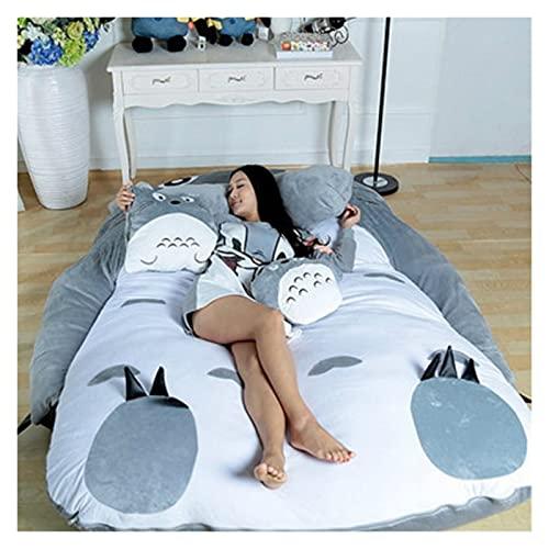 WSZMD Totoro Dibujos Animados Colchón Lazy Sofá Cama Ocio Y Confort Tatami Mats Encantador Creativo Pequeño Dormitorio Sofá Cama Silla Cama, Sofá Cama (Size : 220x170cm)