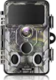 TOGUARD Upgraded Wildlife Camera WiFi Bluetooth 20MP 1296P Hunting Trail Camera with 120°