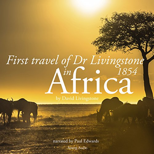 First travel of Dr Livingstone in Africa audiobook cover art