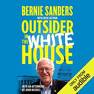 Outsider in the White House audiobook cover art