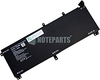 【NOTEPARTS】Dell デル XPS 15 (9530) Precison M3800 用 6セル バッテリー 7D1WJ H76MV T0TRM Y758W対応