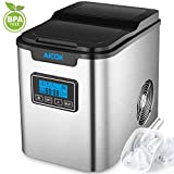 Upgraded Aicok Portable Digital Ice Maker Machine | Stainless Steel...