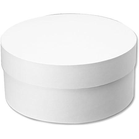 ヘイコー 箱 ギフトボックス ホワイト 円筒型 220-98mm 6868358