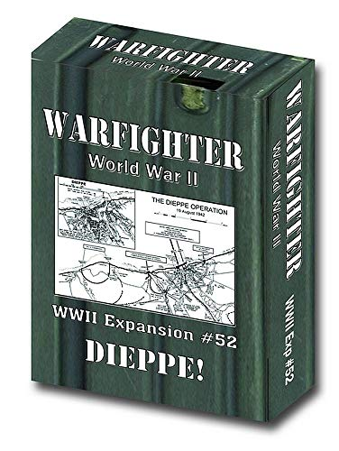 DVG: Expansion Kit #52, Dieppe Raid Battlepack, for Warfighter WWII Solitaire Boardgame