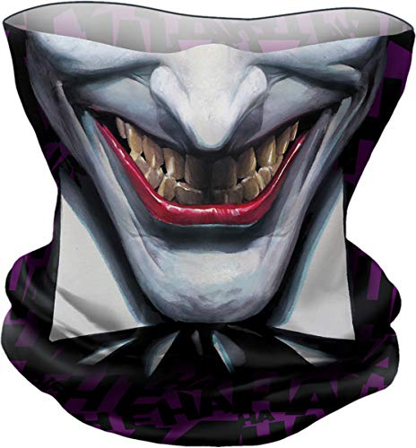 DC Comics - Joker - Ha Ha Ha - Multifunctional Face Wraps - L - Pañuelo para la Cara - Multifunción - L