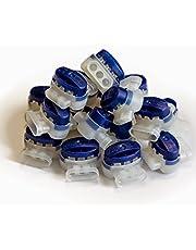 Digisky®-Set: 50 stuks waterdichte kabelconnector voor auto's van Husqvarna en Gardena robotmaaier (R40Li, R45 Li, R70Li) (3M Scotchlok connector 314, 0,5 – 1,5 mm²)
