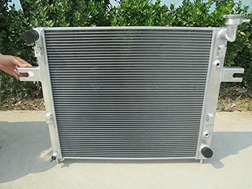Radiador de aluminio para JEE-P GRAND CHEROKEE WJ y WG/CHEROKEE XJ 4.0L 4.7L V8 GASOLINA 98-05 AT/MT EVA ERH MX