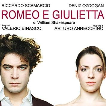 Romeo e Giulietta (Musiche della tragedia teatrale di William Shakespeare con Riccardo Scamarcio e Deniz Ozdogan regia Valerio Binasco)