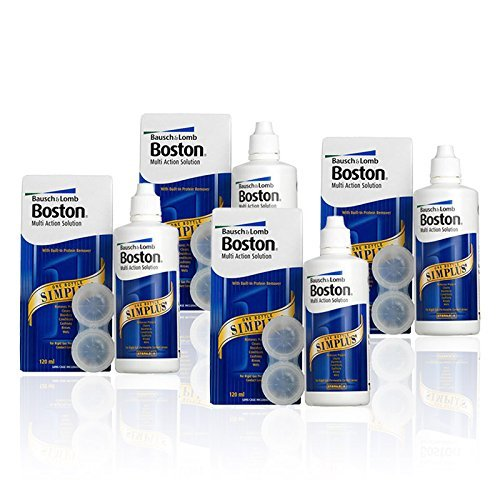 Bausch & Lomb Boston Simplus Solution, 4 x 120 ml