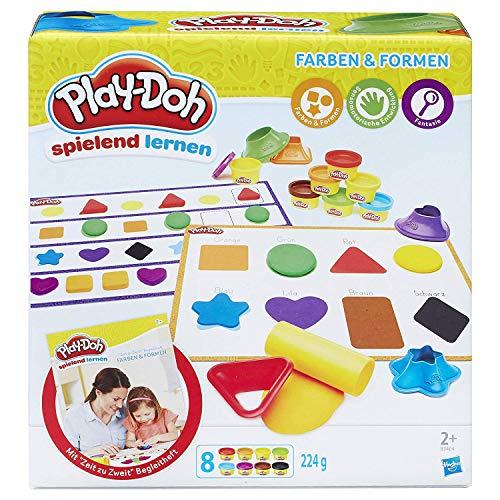 Hasbro Play-Doh B3404100 - Erste Farben und Formen, Knete