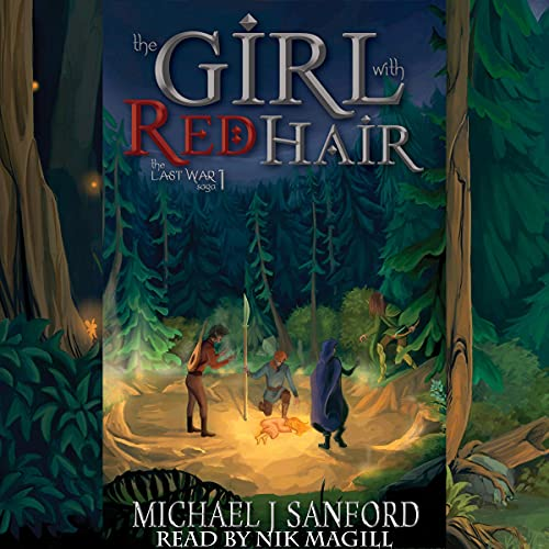 The Girl with Red Hair Audiobook By Michael J Sanford cover art