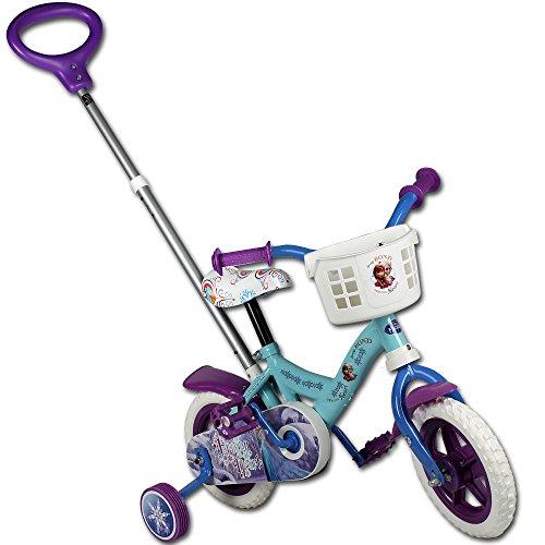 TW24 Kinderfahrrad - Fahrrad - Laufrad - 10 Zoll mit Motivauswahl (Frozen)