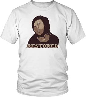 ECCE Homo Fresco Restored into ECCE Mono by Cecilia Giménez - Unisex T-Shirt