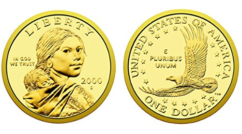 2000 S Sacagawea Native American Proof US Coin DCAM Gem Modern Dollar $1 $1 Proof DCAM US Mint