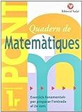 Pont Matemàtiques 1r primària by Pàmies Tomàs Lina Màrquez Caro Carles(2012-01-09)