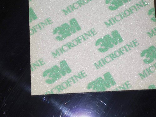 3M - Soft Pads E02600 microfine (P1500-2200, Nachschleifen von Konturen, Rundungen, 20 Stück)