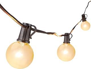 Guirnarldas Blancas de Luz Cálida LED Luces del Efecto Estrellado, 762 cm Guirnaldas de bombillas