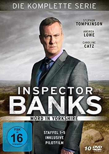 Inspector Banks - Mord in Yorkshire: Die komplette Serie [10 DVDs]