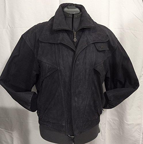 Men's Brushed Leather Jacket - Size M