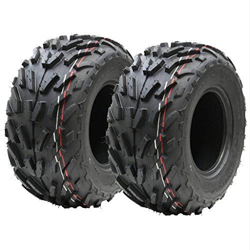 Zwei (Paar) 16x8.00-7 Quad Reifen, 16 x 8-7 ATV E markierte Straße legalen Reifen 7 Zoll