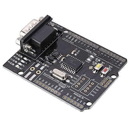 Hohe Zuverlässigkeit 1 MBit/s Erweiterungskarte CAN-Bus-Abschirmung HW-A001 MCP2515 Für CAN2.0-Protokoll