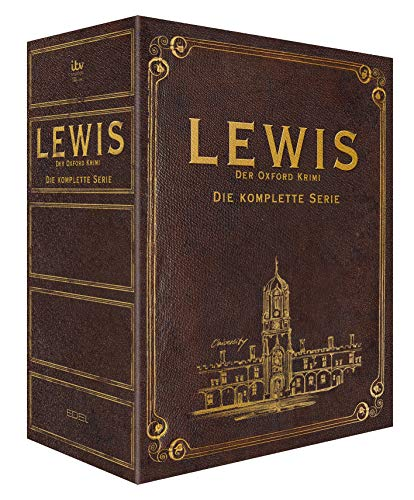 Lewis - Der Oxford Krimi Gesamtbox (Exklusiv bei Amazon.de) [Special Edition]