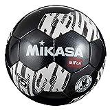 【Amazon.co.jp 限定】 ミカサ(MIKASA) サッカーボール 5号球 検定球 MIFoA(ミフォア) 一般・大学・高校・中学 FT501B-BKW