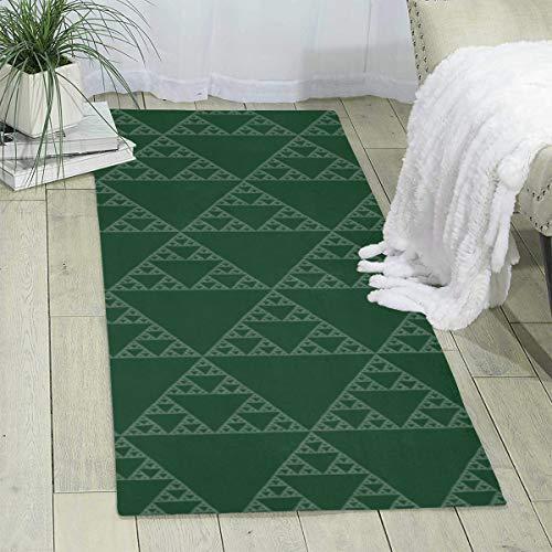 Qing_II Area Carpet Runner Sierpinski Triangle Kreidetafel Modern Area Teppich Teppich für Schlafzimmer Boden Sofa Wohnzimmer