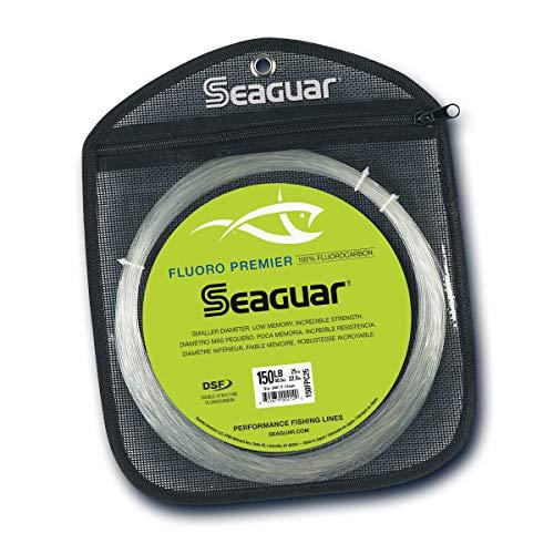 Seaguar Fluoro Premier Fluorkohlenstoffvorfach, 25 m, Unisex-Erwachsene, 900413, farblos, 130-Pounds