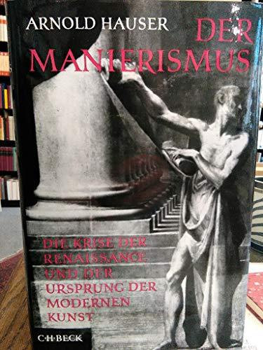 Der Manierismus