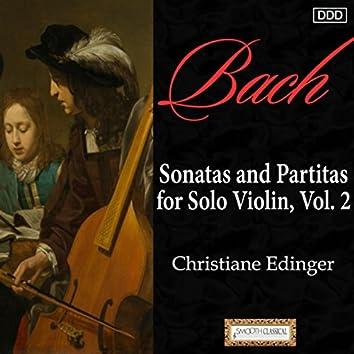 Bach: Sonatas and Partitas for Solo Violin, Vol. 2