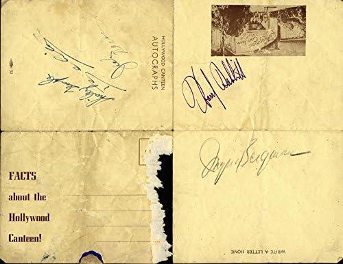 Ingrid Bergman - Signature co-signed Ha Carson Jack Belita By: Challenge the lowest Ranking TOP16 price of Japan ☆