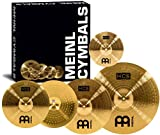 "Meinl Cymbal Set Box Pack with 14"" Hihats, 20"" Ride, 16"" Crash, Plus a FREE 10"" Splash –..."