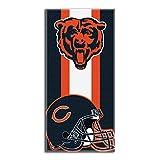 The Northwest Company NFL Chicago Bears 'Zone Read' Beach Towel, 30' x 60' , Navy