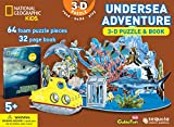 National Geographic Kids - Undersea Adventure 3-D Puzzle & Book