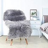 YIHAIC, Kunstfell, Teppich aus Schafsfell, dekorativ, lange Haare, Imitat aus Baumwolle, perfekt als...