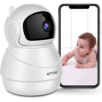 for Baby//Elderly//Pet Surveillance cameras Wireless Camera WiFi Remote Mobile Phone Home Family Night Vision Hd Integrated Network Monitor Home Helper Pan//Tilt//Zoom Monitor