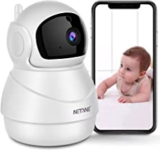 Security Camera WiFi IP Camera for Home Security Camera Pan/Tilt/Zoom Baby Monitor Pet Camera with Two-Way Audio, Night Vi...