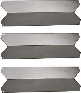 Htanch SN5691(3-Pack) Stainless Steel Heat Plate Replacement for Fiesta Blue Ember FG50069LP, Blue Ember FG50069NG, FG500057-103, FG50057-703NG, FG50069, FG50069-U401, FG50069-U409, FG5006