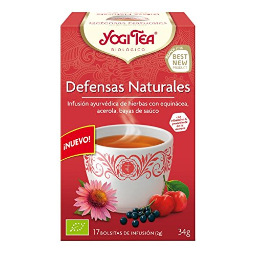 Yogi Tea Defensas Naturales - 17 bolsitas - [confezione da 3]