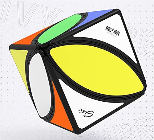 XIAN Cubo mágico con Forma Especial, Cubo con Forma de Hoja de Arce, Rompecabezas en 3D