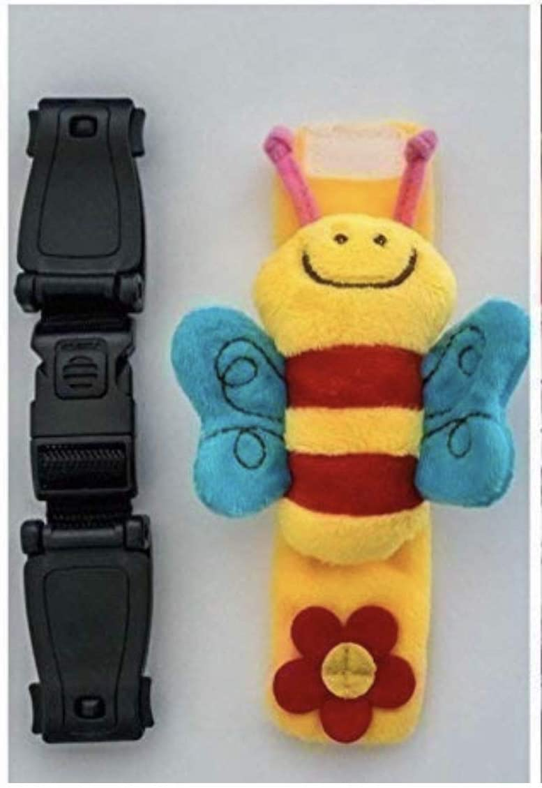 ESCAPE-ME-NOT 07/19 3 x Anti Harness Chest Clips for Children