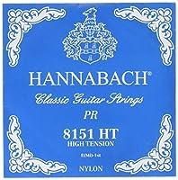 HANNABACH シルバースペシャル E8151HT Blue E 1弦