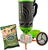 Jetboil Flash JavaKit Camping and Backpacking Stove Cooking System with Silicone French Press Coffee Maker, Ecto