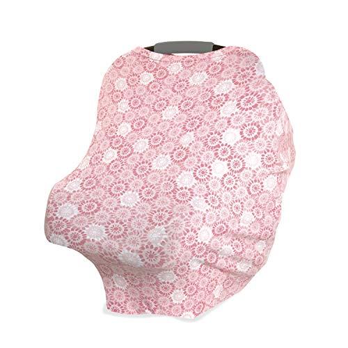 anais Comfort Knit Baby Swaddle Blanket for Newborn Girl and Boy Super Soft Cotton with Spandex 47 x 47 Inch,/Sunburst aden Versatile Stroller Cover Nursing Shield Burp Cloth