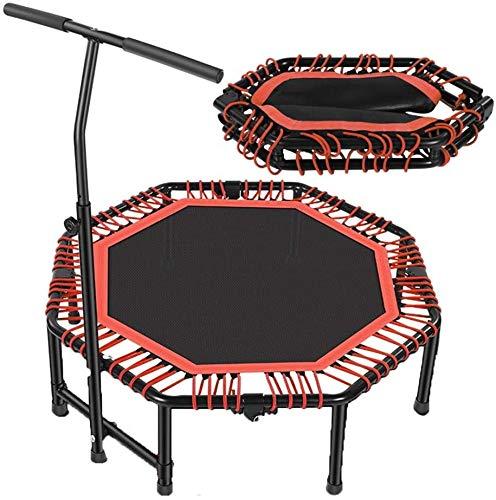 YUMUO Cebañador de trampolín para Gimnasio Oficina de Oficina de Oficina Aerobic Plegable con reposabrazos Capacidad de Carga 400kg, Octagon, 121